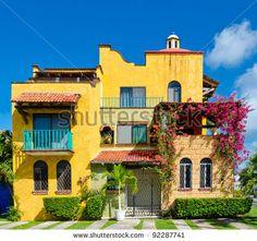 Love the colors! caribbean+style | Caribbean Style House