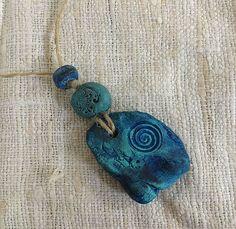 ceramic beads pendant