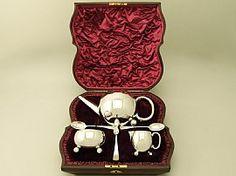 3 Piece Tea Set | Antique Victorian Silverware  SKU: W8967 Price    GBP £1,595.00 http://www.acsilver.co.uk/shop/pc/Sterling-Silver-Three-Piece-Bachelor-Tea-Service-Antique-Victorian-67p6559.htm#.VDOXX_ldXHU