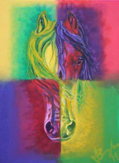 """Horse"" Oil on canvas http://melissaburgher.com/"