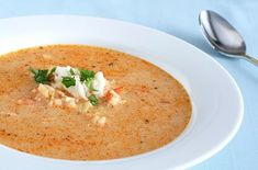 Learn how to prepare this easy Crab and Shrimp Bisque recipe like a pro. With a total time of only 20 minutes, you'll have a delicious dish ready before you know it. Shrimp Bisque, Crab Bisque, Seafood Bisque, Seafood Soup, Shrimp Soup, Seafood Recipes, Soup Recipes, Cooking Recipes, Lobster Recipes