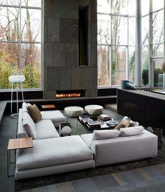 Stunning elegant living interior design ᴷᴬ