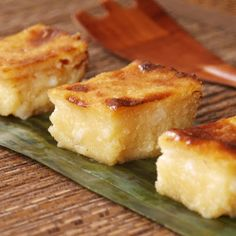 Cassava cake (macapuno)