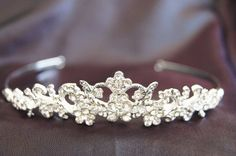New Bridal Wedding Tiara Crown Crystal Party « Dress Adds Everyday