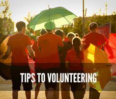 Tips to Volunteering
