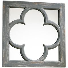 quatrefoil mirror from Layla Grace  $58