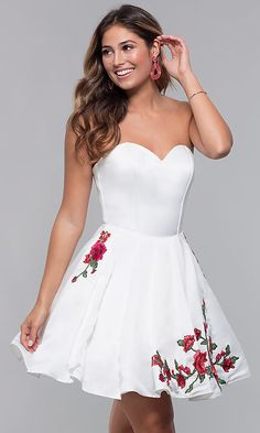 Lovely Dresses, Modest Dresses, Homecoming Dress Stores, Tiffany Dresses, Strapless Party Dress, Formal Dance, Prom Girl, Occasion Dresses, Sexy Outfits