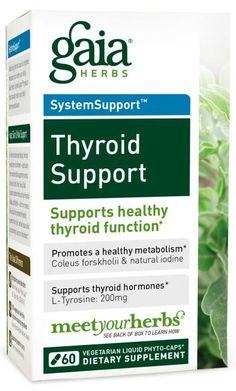 Gaia Herbs Thyroid Support
