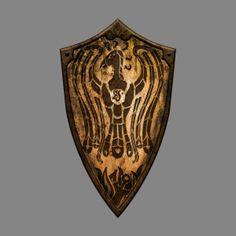 Bronze Phoenix / Dark Souls 2′s Shield Design Contest