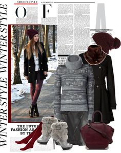 """""""...when it's freezing outside"""" by ellie366 ❤ liked on Polyvore"""