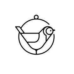 Mid-Century Bird Icons on www.dstock.co