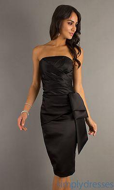 Elegant Short Formal Dress by Mori Lee