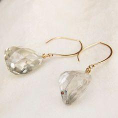 Aqumarine earrings $125