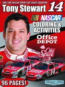Tony Stewart Activity Book by NASCAR. $4.00. Get this great Tony Stewart Activity Book. Great item for kids of all ages 96 pages of Nascar fun.