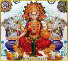Godess of wealth and prospirity Lakshmi Photos, Lakshmi Images, Sai Baba Pictures, God Pictures, Lord Ganesha, Lord Shiva, India Art, Goddess Lakshmi, Hindu Deities