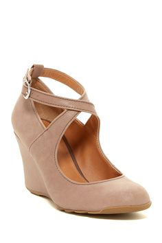 Tell Lilly More Leather Wedge Heel by Kenneth Cole Reaction on @nordstrom_rack