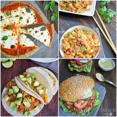 """Plato fuerte Vegetariano - Mi primer libro de cocina recetas de """"Quinoa, el regalo ancestral de los Incas"""" - Pizca de Sabor"""