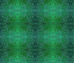 Emerald Foil 1500 fabric by wren_leyland on Spoonflower - custom fabric