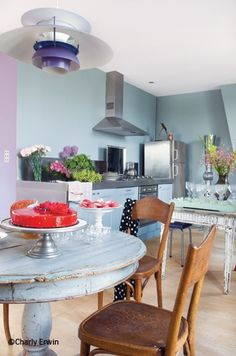 Romantic and Eclectic Duplex Apartment in Paris | Interior Design Files