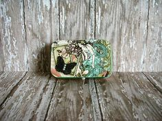 Your place to buy and sell all things handmade Pet Supplies, Craft Supplies, Altoids Tins, Green Butterfly, Graphic 45, Spring Time, Animals And Pets, Mini, Unique Jewelry