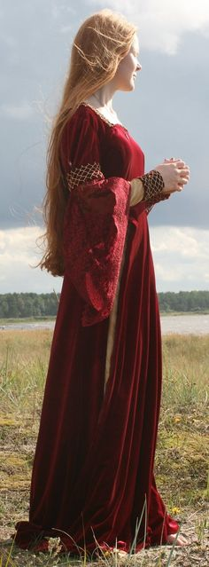 """Gowns Pagan Wicca Witch:  Medieval #gown ~ """"Stormbringer 7,"""" by Iardacil-stock, at deviantART."""
