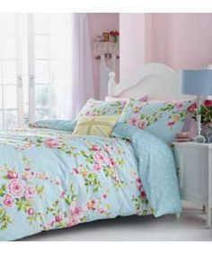 Buy a used Catherine Lansfield Canterbury Double Duvet Set - Multi. ✅Compare prices by UK Leading retailers that sells ⭐Used Catherine Lansfield Canterbury Double Duvet Set - Multi for cheap prices. Bed Sets, Duvet Sets, Duvet Cover Sets, Comforter Cover, Bed Sheet Sets, Shabby Chic Stil, Estilo Shabby Chic, Shabby Chic Bedrooms, Chic Bedding