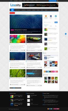 Linenity - Clean Responsive Wordpress Magazine - News / Editorial Blog / Magazine   #wordpress #theme #website #template #responsive #design #webdesign #flat #flatdesign #magazine #blog