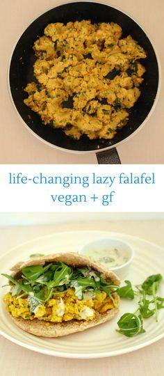 Life-Changing Lazy Falafel (Vegan + GF)