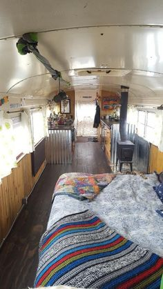 30 amazing ultimate school bus conversions www. Bus Living, Tiny Living, Home And Living, School Bus Tiny House, School Bus Camper, Bus Conversion For Sale, School Bus Conversion, Bus Remodel, Converted Bus