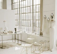 A stunning set up @ New York, One Fine Day bridal market by a. Ellie Her stunning accessories now available @ Amaline Vitale