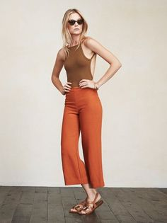 Hot damn. The Jessa Bodysuit is the perfect thing to have you looking your best when the heat hits. It's got a high neckline, open back, and the sides are cut higher to make your tushy look real good. https://www.thereformation.com/products/jessa-bodysuit-cocoa?utm_source=pinterest&utm_medium=organic&utm_campaign=PinterestOwnedPins