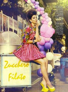 """""""The Laws of the Market"""": Valériane by Signe Vilstrup for Vanity Fair Italia"""