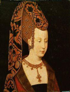 Isabelle de Portugal, duchesse de Bourgogne, jeune femme