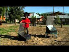 COCINA SOLAR EN LA PATAGONIA - YouTube
