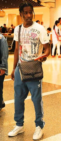 Don't Call It a Murse: A$AP Rocky Has the Ultimate Summer Travel Bag