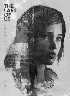 Poster concept for The Last of Us - by Krzysztof Domaradzki