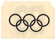 Lance Wyman / Department of Publications and Urban Design, 1968 Mexico City Olympic Games Logo, 1966