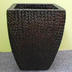 Camilla Curved Texture Bonfire Pot