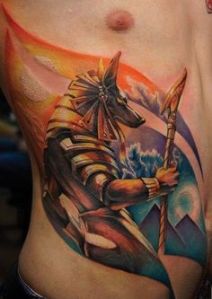 Egyptian Horus Tattoo design