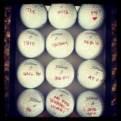 awesome golf valentine (or anything!) idea