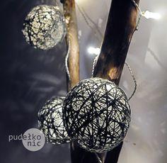pudełko nic: Cotton Ball Ligths - DIY / jak zrobić