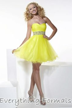 42a85438232df Fetching and Timeless #Tulle Sweetheart Neckline Empire Waist Baby Doll  #HomecomingDress by #HannahS