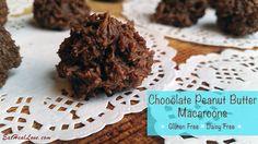 Chocolate Peanut Butter Macaroon
