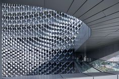Interesting texture | Emerson College Campus Architecture | Morphosis Architects