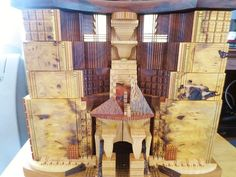 Po Shun Leong Architectural Art Wood Carved by ChickieVintageLove
