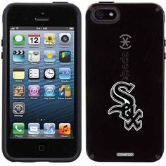 Chicago White Sox Sox Design on Apple iPhone 5SE/5s CandyShell Case by Speck