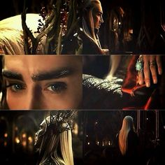 he has nicer hair and jewerly than me.......not fair Thranduil