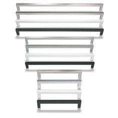 Cubix on moderni, selkeälinjainen kalustevedin. Vetimestä löytyy useita pituuksia ja neljä eri väriä; rst-look, kromattu, valkoinen ja musta. Uutuutena kupari. Vetimen korkeus on 9 mm ja syvyys 28 mm. Materiaali pinnoitettu samakki. #cubix #kalustevedin #vedin #keittiö #työhuone #kylpyhuone #moderni #gripshop #handtag Bookcase, Shelves, Home Decor, Shelving, Decoration Home, Room Decor, Book Shelves, Shelving Units, Home Interior Design