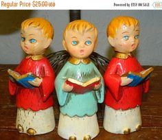 Vintage Choir Boys Church Signing Choir by TheIDconnection on Etsy