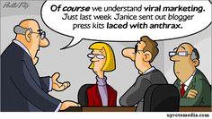 Funny Social Media Comic Viral Marketing